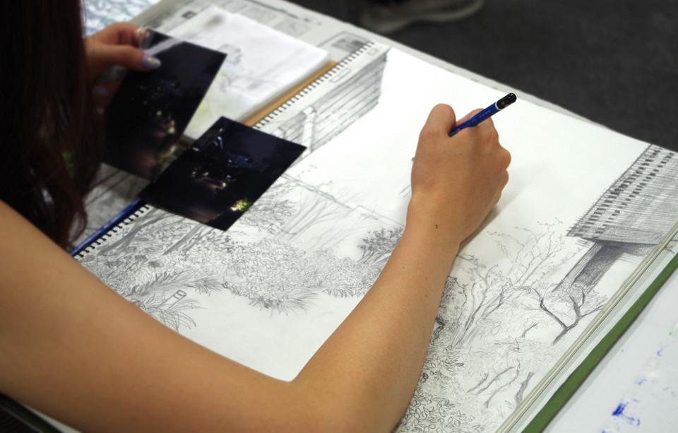 上野の森美術館 - アートスクール - アトリ絵ブログ - 【受講生募集 ...
